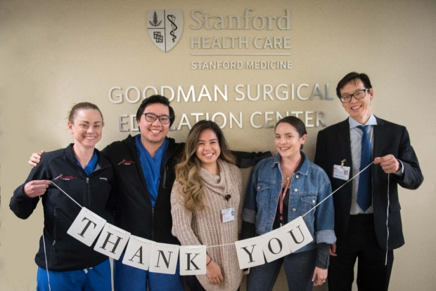 Goodman Surgical Education Center thanks you for your donations.