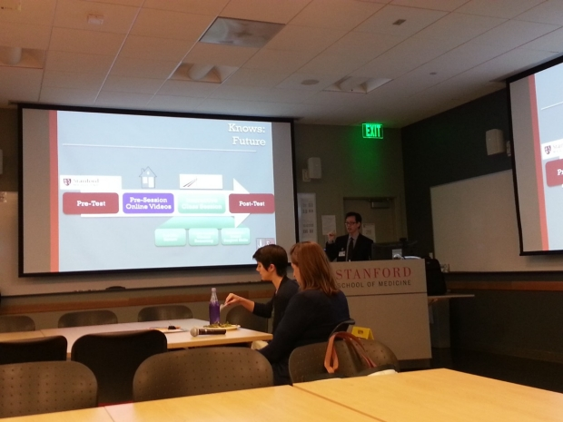 Dr. Lau speaks at Stanford Medical Education Seminar Series